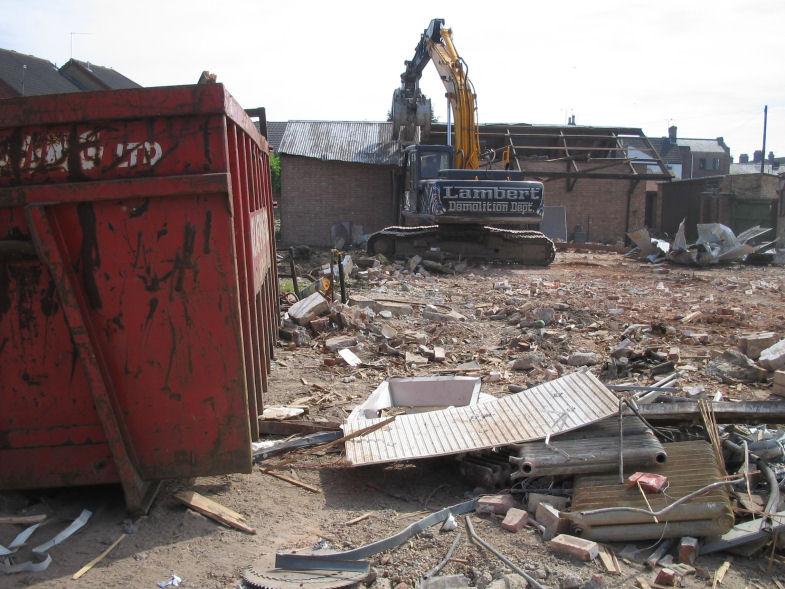 Demolition wellington construction limited old warnes for Demolition wood for sale